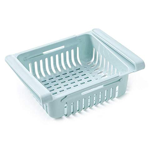 Schwerlastregal Kühlraum-Speicher-Fach-Multifunktionsfach - Speicherregal-Gefriermaschine Schieben Küche Kühlraum-Gefriermaschine Platzsparendes Regal Normallack-Trennung Sortieren des Speicher-Kasten