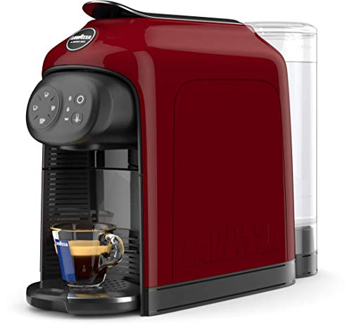Lavazza - Cafetera Lavazza a Modo Mio - Modelo Idola, 1500 W de potencia, capacidad 1,1 litros Máquina de café Red Fire