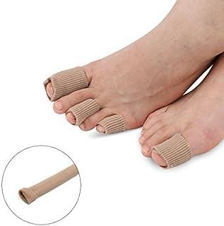 eDealMax 12cm Longitud Callos, ampollas juanete del dedo del Pie del Gel tubo alineado del