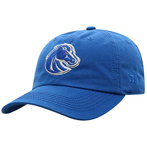 Top of the World Boise State Broncos Men's Relaxed Fit Adjustable Hat Team Color Primary Icon, Adjustable