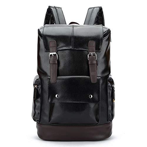 Yaceeng Rugzak voor heren, voor school, laptoptassen met grote inhoud, hoogwaardige reistas