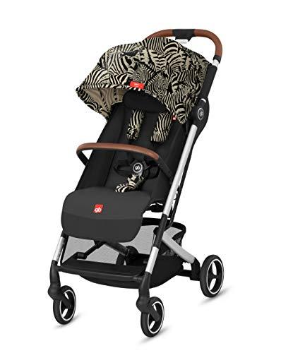 gb Gold Buggy Qbit+ All City Zebra Fashion Edition, 3-in-1 Reisesystem, Ab Geburt bis 22 kg (ca. 4 Jahre), Desert Night