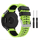 Yayuu Compatible con Forerunner 235 Correa de Reloj, Banda de Reemplazo Silicona Suave Sports Pulsera para Forerunner 235/220/230/620/630/735XT Smart Watch