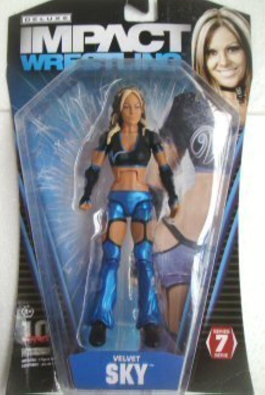 entrega rápida TNA TNA TNA Wrestling Deluxe Impact Series 7 Acción Figura Velvet Sky by Jakks Pacific  edición limitada en caliente