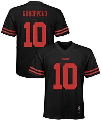 Jimmy Garoppolo San Francisco 49ers #10 Black Youth Alternate Mid Tier Jersey (Small 8)