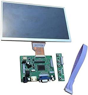Yadianna 9 TFT LCD Display Module HDMI+VGA+2AV Driver Board for Raspberry Pi