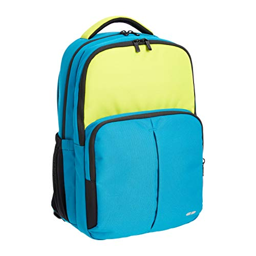 Amazon Basics - Mochila escolar, azul