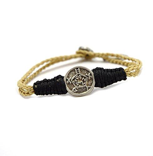 Mizze Made For Luck Jewelry - Pulsera de seguridad hecha a mano con sello de Salomón