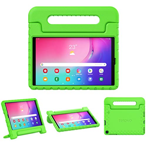 TiMOVO Case for Samsung Galaxy Tab A 10.1 2019(T510/ T515), EVA Kids Shock Proof Convertible Handle Light Weight Protective Cover for Galaxy Tab A 10.1 2019 Tablet - Green