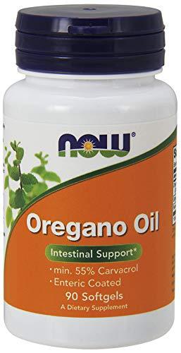 Now Foods Oregano Oil, Enteric, 90 Stück, 110 g