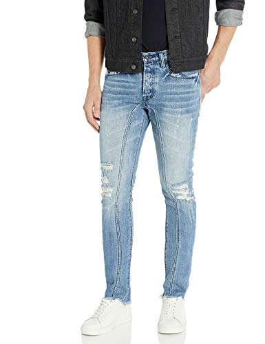 PRPS Goods & Co. Herren Ischium Jeans, Indigoblau, 50