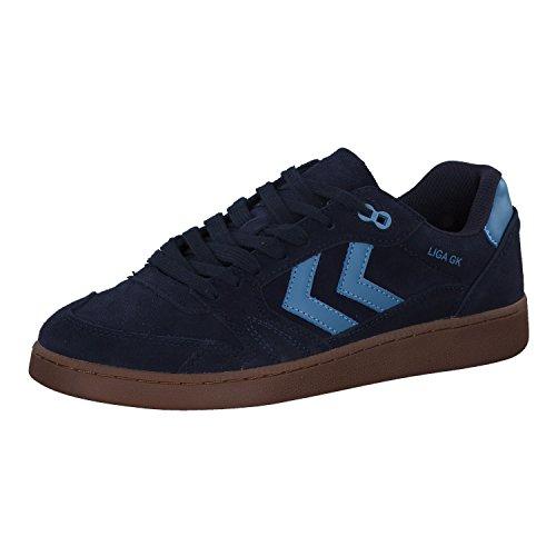 hummel Herren Sneaker Liga GK 60089 Peacoat 42