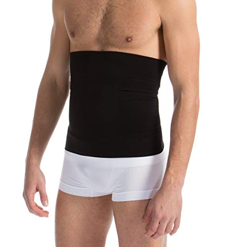 Farmacell Man 405 (Schwarz, XXL) Figurformende Bauchbinde für Männer