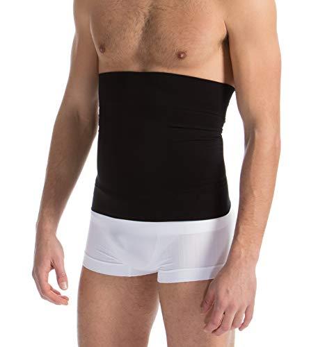 Farmacell Man 405 (Schwarz, XL) Figurformende Bauchbinde für Männer