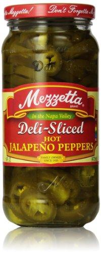 Mezzetta Jalapeno Peppers, Deli-Sliced