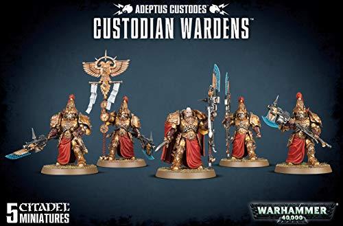 Games Workshop Warhammer 40k - Guardianes de custodia Adeptus Custodios