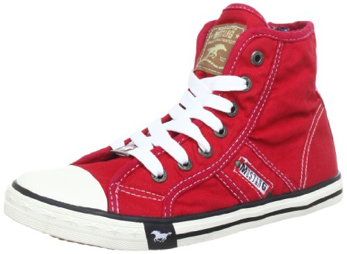 MUSTANG Damen Booty High-top, Rot (rot 5), 37 EU