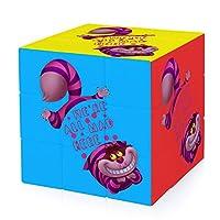 不思議の国のアリス Cheshire Cat Weルービックキューブ 立体パズル マジックキューブ 競技用キューブ 3x3x3 ストレス解消 ポンプ防止 脳トレ 知育玩具 パズルセット