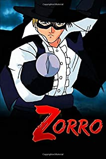 ZORRO: College Lined Notebook For kids teens and adults | 6x9 - 100 Pages | Lined Notebook Journal To Write On.