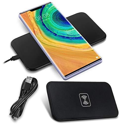 Nauci QI draadloze oplader compatibel met Huawei P30 Pro laadstation draadloze lader inductief Universal snellader