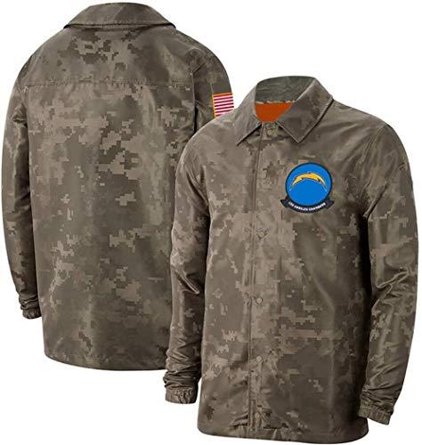 NFLSHX LGG - Sudadera para hombre, diseño de fútbol americano Pittsburgh Chargers, camiseta de entrenamiento (color: G, tamaño: grande)