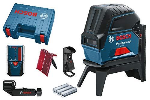 Bosch Professional 0601066F01 Livella Laser Combinata, LR6, in Custodia Protettiva