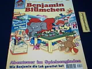 Benjamin Blümchen 62 im Spielzeugladen, 1995, Bastei Comic Magazin