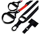 Haltoo Mini <span class='highlight'>Suspension</span> <span class='highlight'>Trainer</span> Kit Complete Set for Home Exercises Bodyweight <span class='highlight'>Suspension</span> <span class='highlight'>Trainer</span> Set Extension Strap Resistance Bands Wall Mount Kit for Your Home Gym and <span class='highlight'>Suspension</span> Cable Training