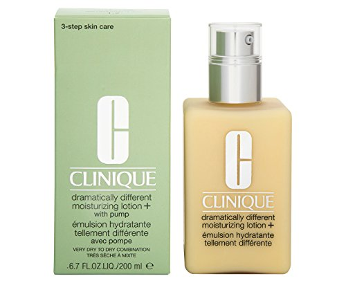 Moisturisers by Clinique Dramatically Different Moisturizing Lotion + (Pump) for Very Dry to Dry Combination Skin / 6.7 fl.oz. 200ml