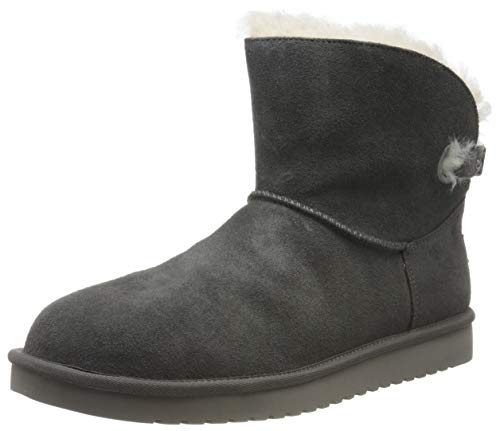 Koolaburra by UGG Women's Remley Mini Classic Boot, Stone Grey, 40 EU