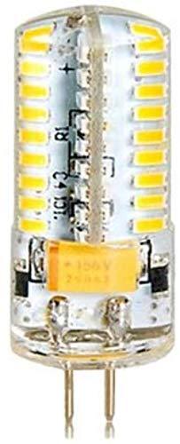 LEDG4 Pin 7W Kylskåp Machine Tool Range Hood Salt Lampa Bordslampa Ljuskrona Bulb (5-pack) (Color : Warm White)