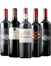 金賞入り!ラフィット&ムートン醸造家赤5本セット 赤ワインセット