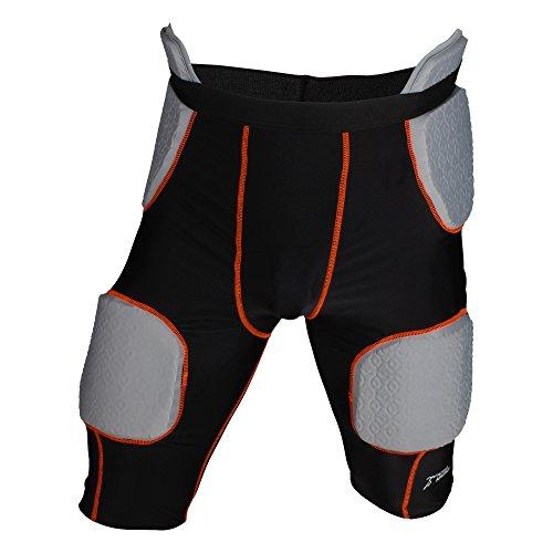 Active Athletics American Football Unterhose, Girdle mit 5 integrierten Pads - schwarz Gr. M