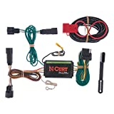 CURT 56120 Vehicle-Side Custom 4-Pin Trailer Wiring Harness, Select Ford Edge