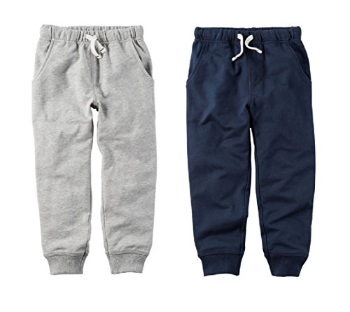 Carters Toddler Boys 2 Pack French Terry Active Jogger...