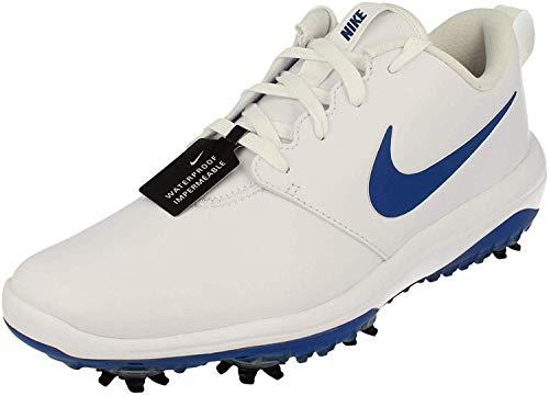 Nike Roshe G Tour Hombre Golf Zapatos AR5580 Sneakers Zapatos (UK 7 US 8 EU 41, White Blue White 101)