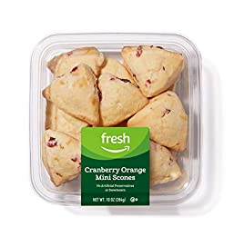 Fresh Brand – Cranberry Orange Mini Scones, 10 oz