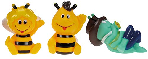 Lena 65516 Studio 100 Biene Maja Wasserspritztiere, Mehrfarbig, 3er