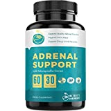 Premium Adrenal Support Supplements & Cortisol Manager to Support Adrenal Fatigue, Cortisol Calm & Anxiety Relief with Ashwagandha, L-Tyrosine, Licorice Root, Rhodiola & Other Adaptogenic Herbs