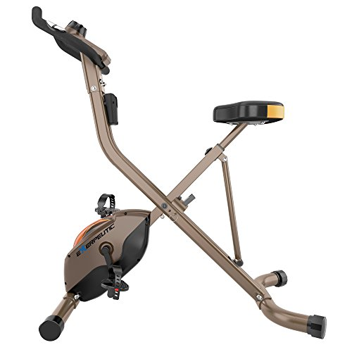 Product Image 7: Exerpeutic Gold Heavy Duty Foldable Exercise Bike with 400 lbs Weight Capacity
