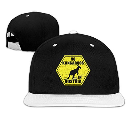 LLALUA No Kangaroos in Austria Unisex Adjustable Snapback Baseball Hat