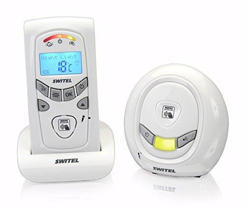 SWITEL BCC58 Digitales Babyphone Rauschfreie Funkübertragung Nachtlicht