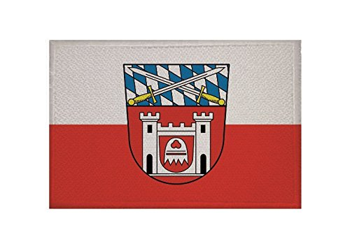 U24 Aufnäher Cham Flagge Aufbügler Patch 9 x 6 cm