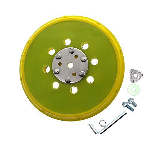 6 Zoll 150mm Schleifkissenschleifer Backing Pad Klettverschluss mit Seitenlöchern Zubehör für Elektrowerkzeuge