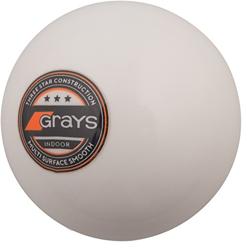 GRAYS Innen Indoor Hockey Ball–Weiß, 5.5oz
