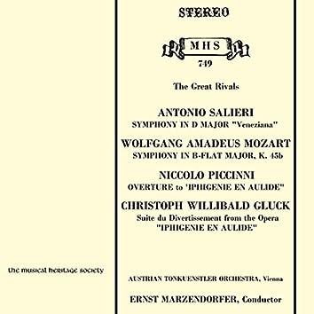 Mozart & Salieri: The Great Rivals
