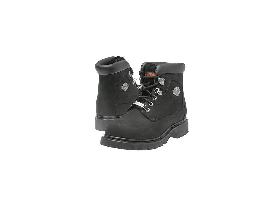f5926a53c339 Harley-Davidson Badlands (Black) Men s Work Lace-up Boots