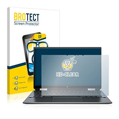BROTECT Schutzfolie kompatibel mit HP Spectre x360 13-aw0031ng klare Bildschirmschutz-Folie