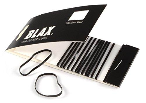Blax Snag-Free Hair Gummibänder Haar Gummi Schwarz 2mm