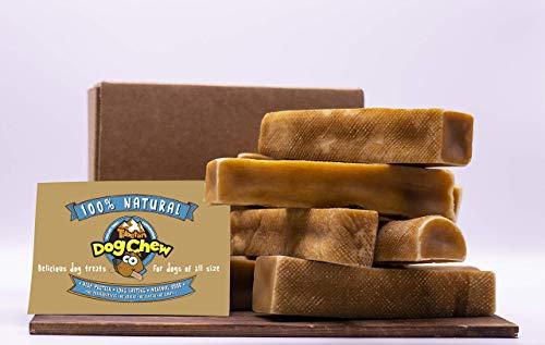 Yak Cheese Himalayan Chew - Himalayan Yak Milk - Natural Yak Cheese Chew, Long Lasting Dog Treats for Aggressive Chewers .Keeps Dogs Busy & Enjoying, Indoors & Outdoor Use (Bulk 2 Pounds Jumbo)